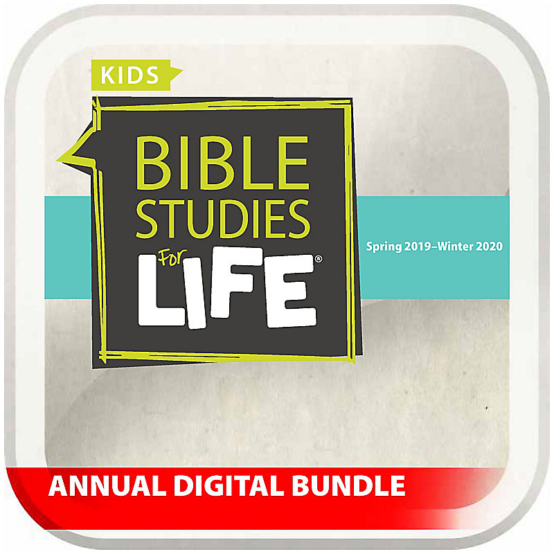 Bible Studies for Life: Kids Annual Digital Bundle NKJV (Spring 2019 - Winter 2020)
