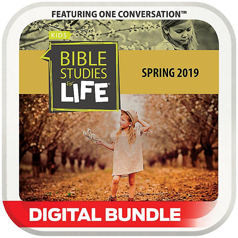 Bible Studies for Life: Kids Grades 1-2 Leader Guide/Activity Pages Digital Spring 2019