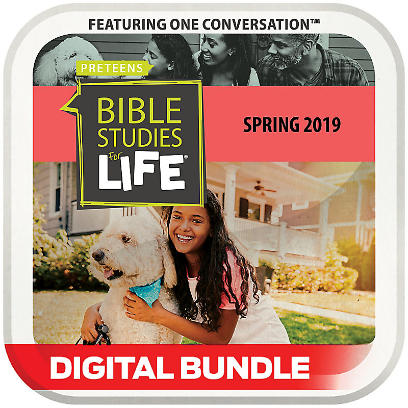 Bible Studies for Life: Preteens Leader Guide/Activity Pages Digital Spring 2019