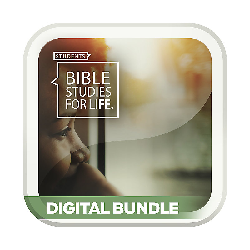 Bible Studies for Life: Students Daily Discipleship Guide/Leader Guide Digital Bundle - Spring 2019