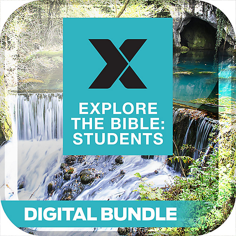 Explore the Bible: Students Personal Study Guide/Leader Guide Digital Bundle - Spring 2019