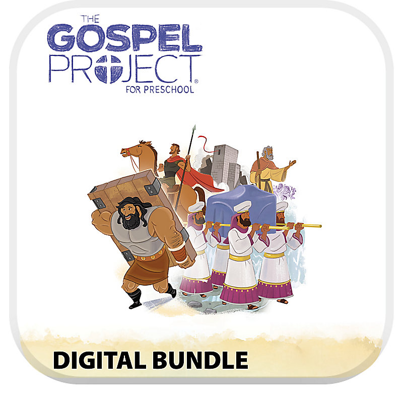 The Gospel Project for Preschool: Preschool with Worship Hour Add-On Digital Bundle - Volume 3: Into the Promised Land