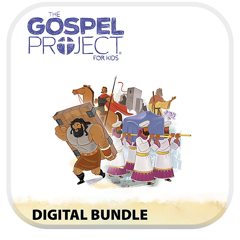 The Gospel Project for Kids: Preschool and Kids with Worship Hour Add-On Digital Bundle - Volume 3: Into the Promised Land
