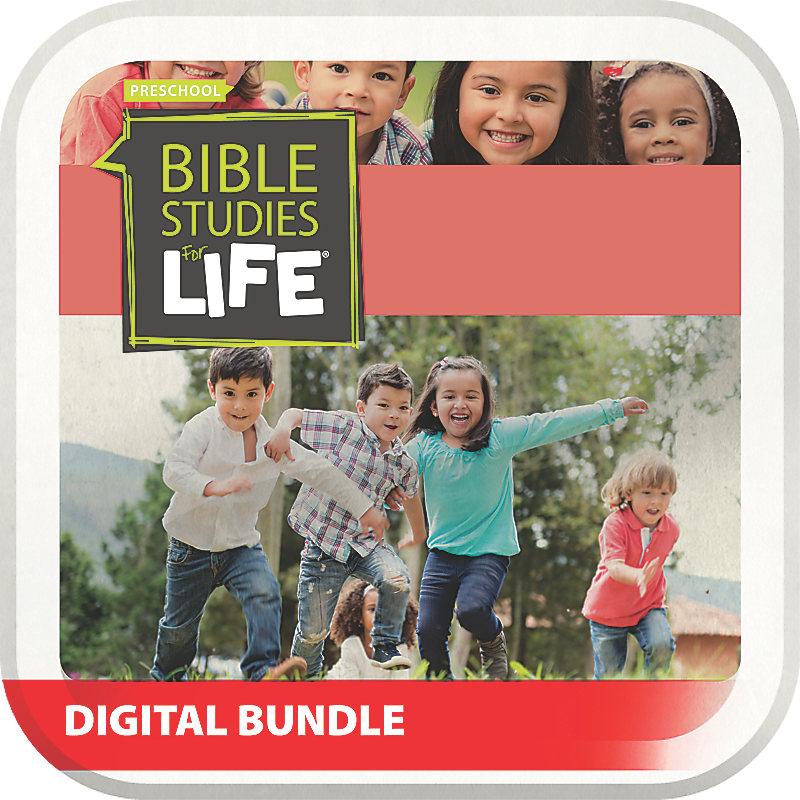 Bible Studies for Life: Preschool and Kids Digital Bundle Spring 2019
