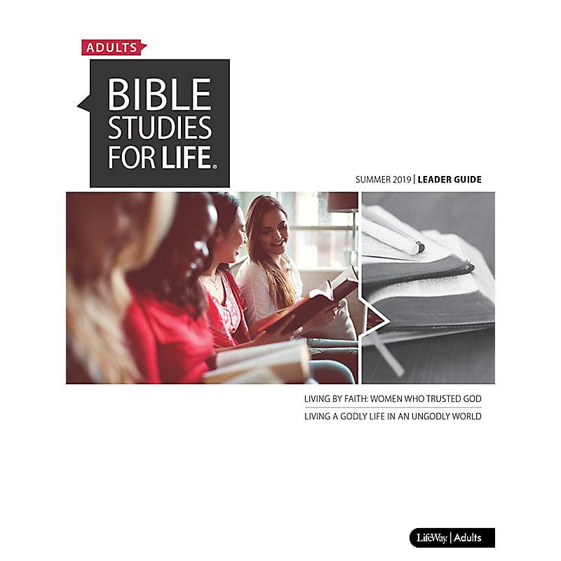 Bible Studies for Life: Adult Leader Guide - Summer 2019