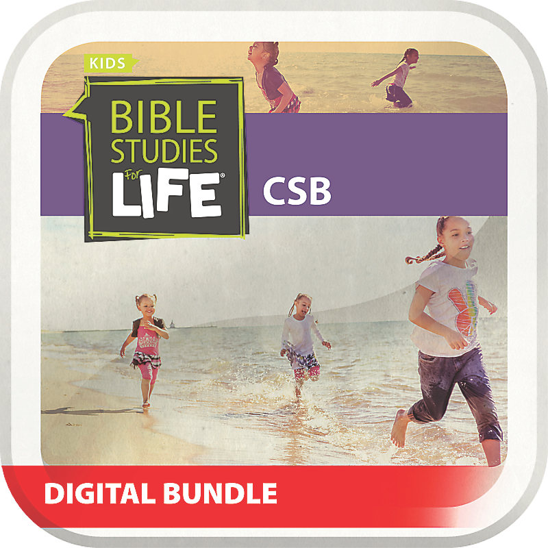 Bible Studies for Life: Preschool and Kids Digital Bundle CSB Summer 2019