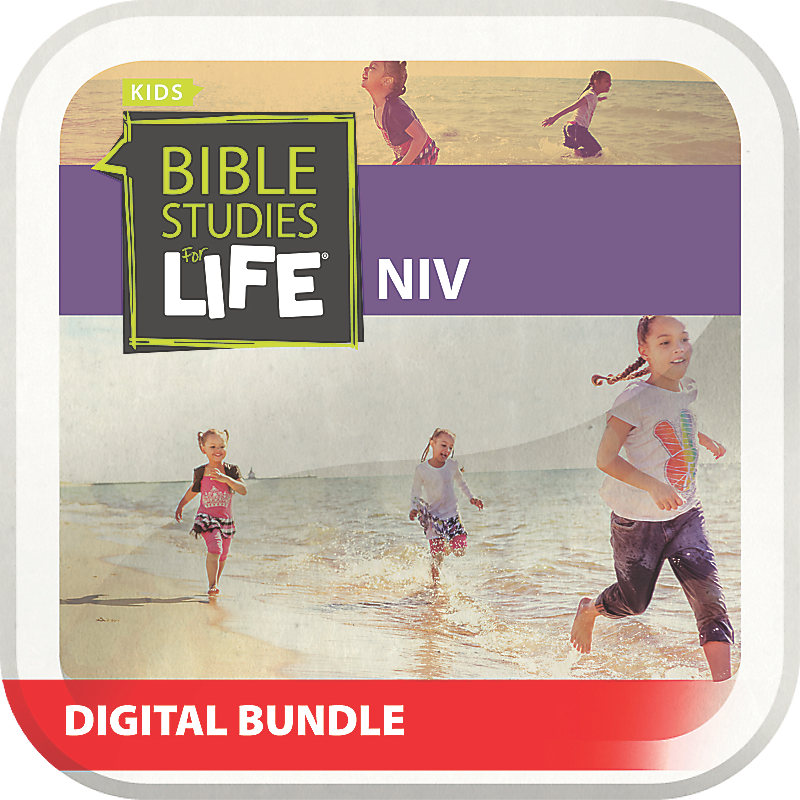 Bible Studies for Life: Preschool and Kids Digital Bundle NIV Summer 2019