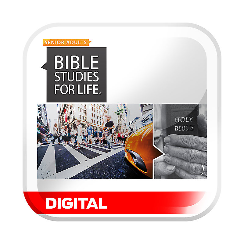 Bible Studies for Life: Senior Adult Personal Study Guide/Leader Guide -  Summer 2019 - Digital