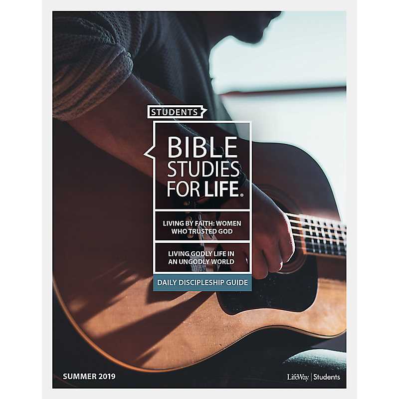 Bible Studies for Life: Daily Discipleship Study Guide - Summer 2019