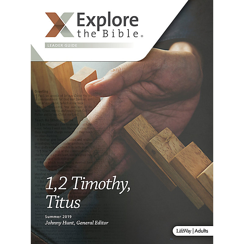 Explore the Bible: Adult Leader Guide - Summer 2019