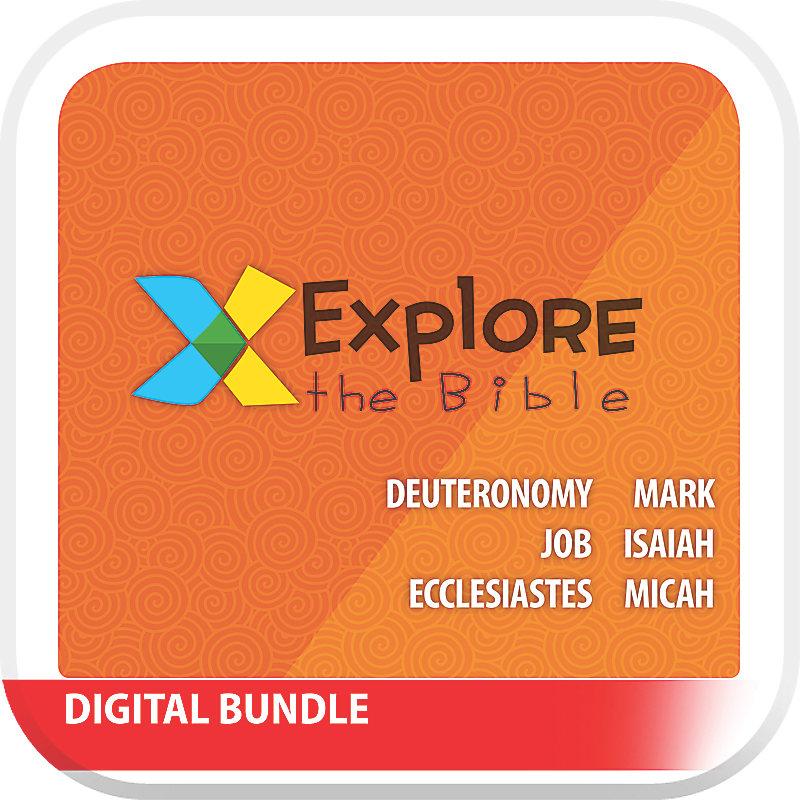 Explore the Bible: Preschool and Kids with Worship Digital Bundle - Summer 2019