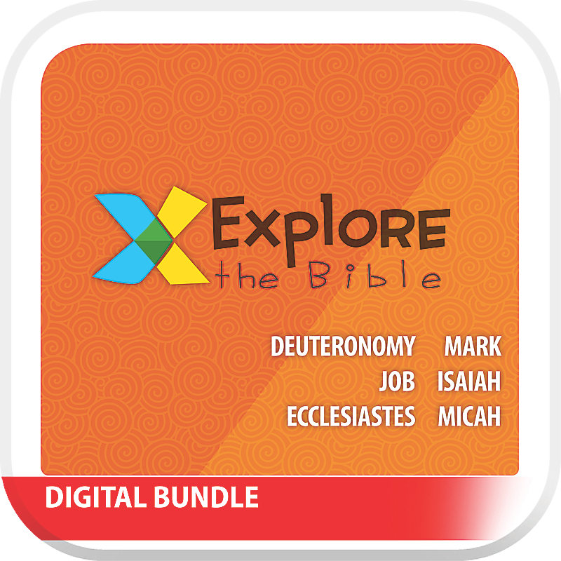 Explore the Bible: Kids with Worship Digital Bundle - Summer 2019