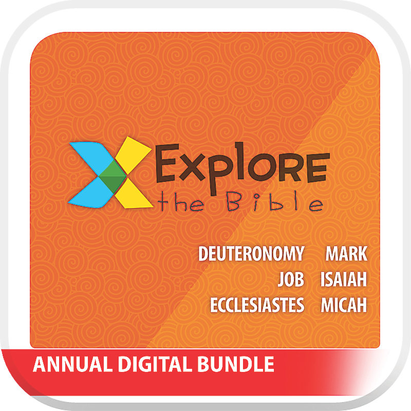 Explore the Bible: Preschool Annual Digital Bundle - Summer 2019 - Spring 2020