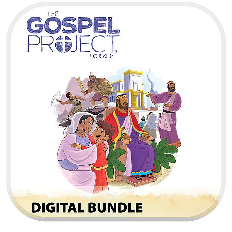 The Gospel Project for Kids Digital Bundle - Volume 4: A Kingdom Provided