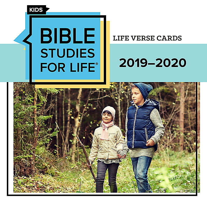 Bible Studies for Life Kids Verse Cards for 2019-2020 - Print