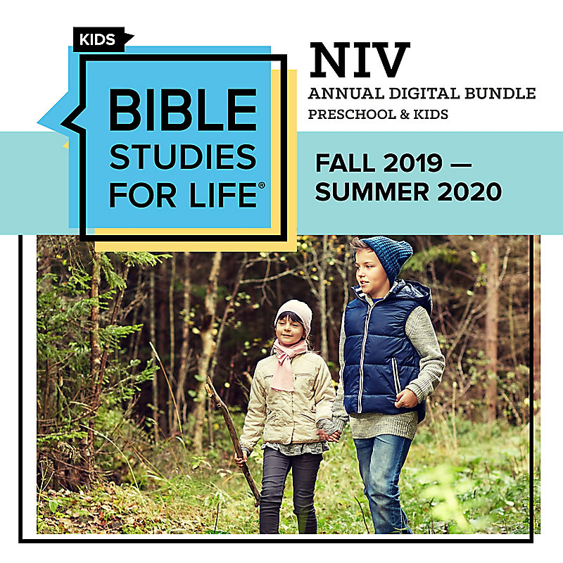 Bible Studies for Life: Preschool and Kids Annual Digital Bundle NIV (Fall 2019-Summer 2020)