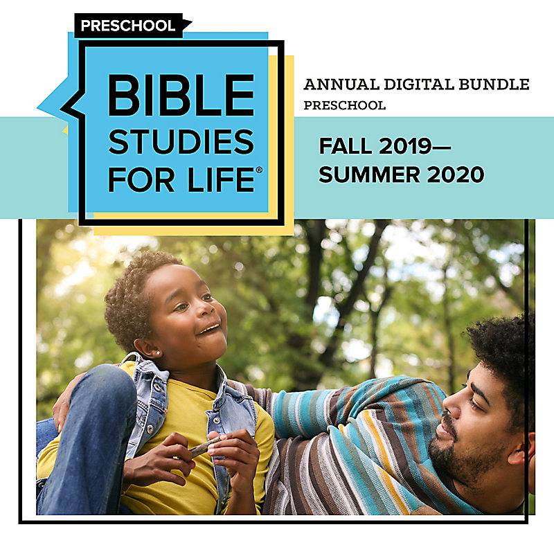 Bible Studies for Life: Preschool Annual Digital Bundle (Fall 2019-Summer 2020)