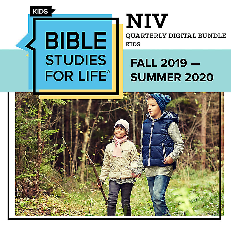 Bible Studies for Life Kids: Digital Bundle NIV - Fall 2019
