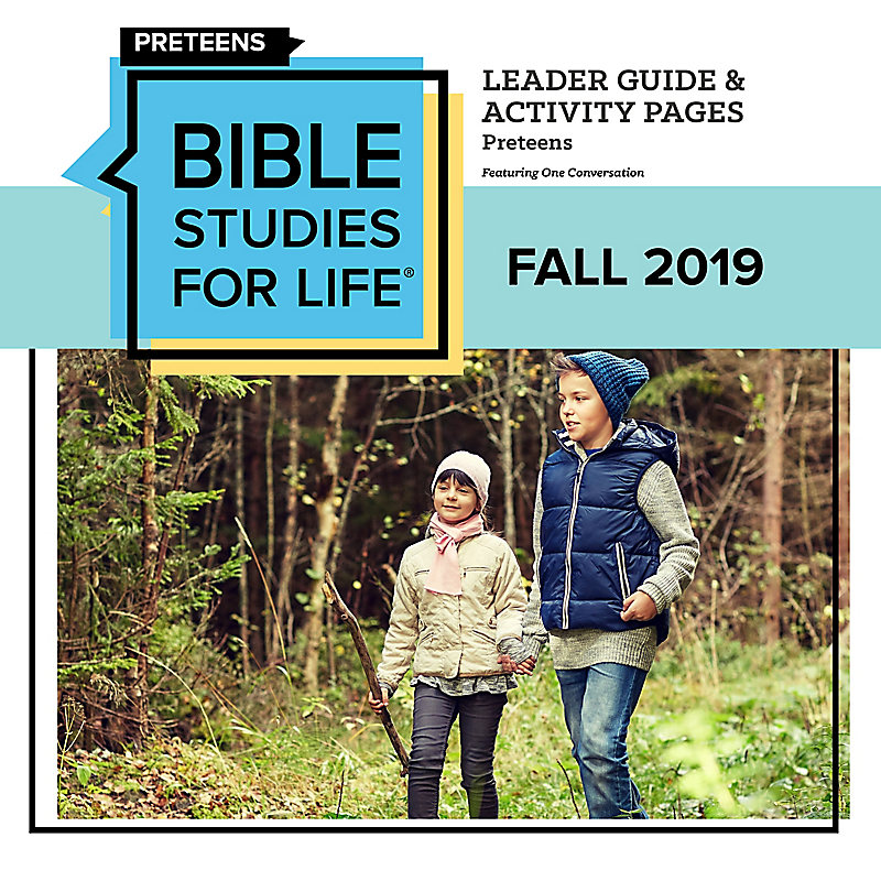 Bible Studies For Life: Preteens Leader Guide/Activity Pages Digital Fall 2019