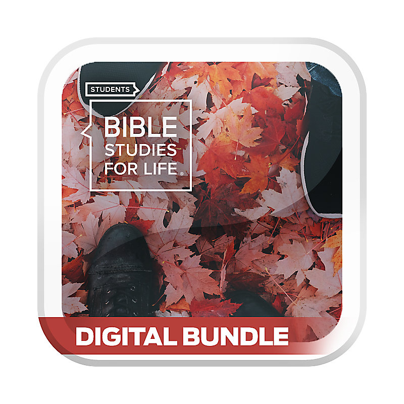 Bible Studies for Life Student Bundle LDR/DDG - Digital