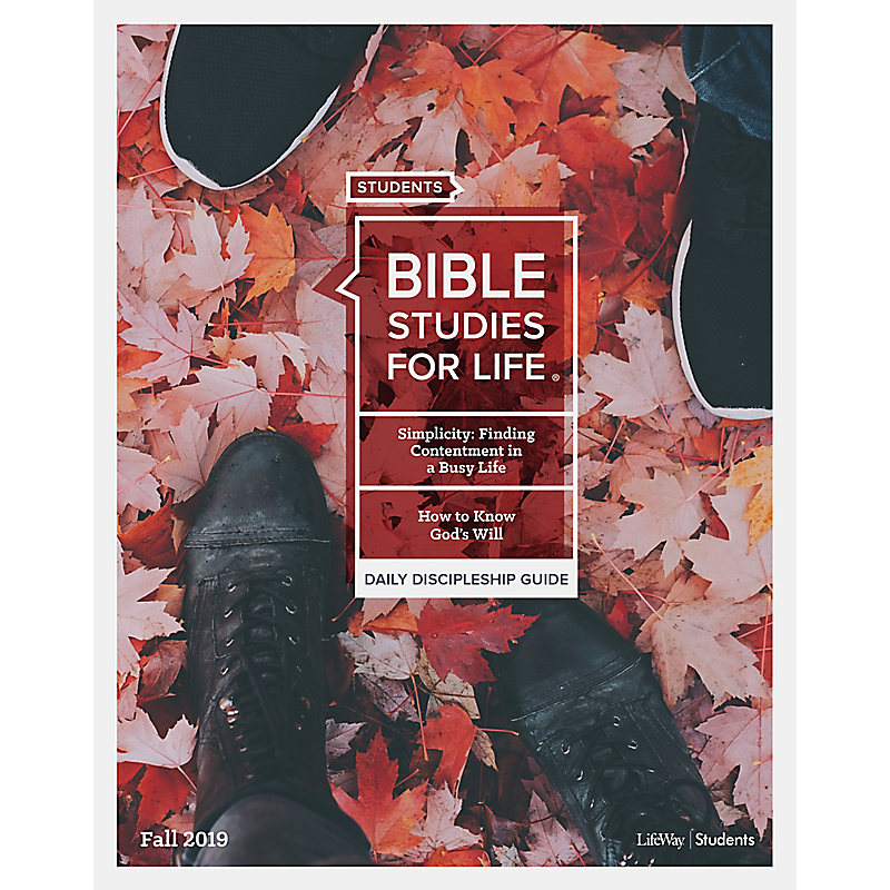 Bible Studies for Life Student Daily Discipleship Guide - Print