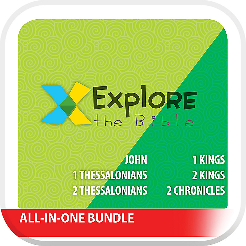 Explore the Bible: Preschool And Kids All-In-One with Worship Digital Bundle - Fall 2019