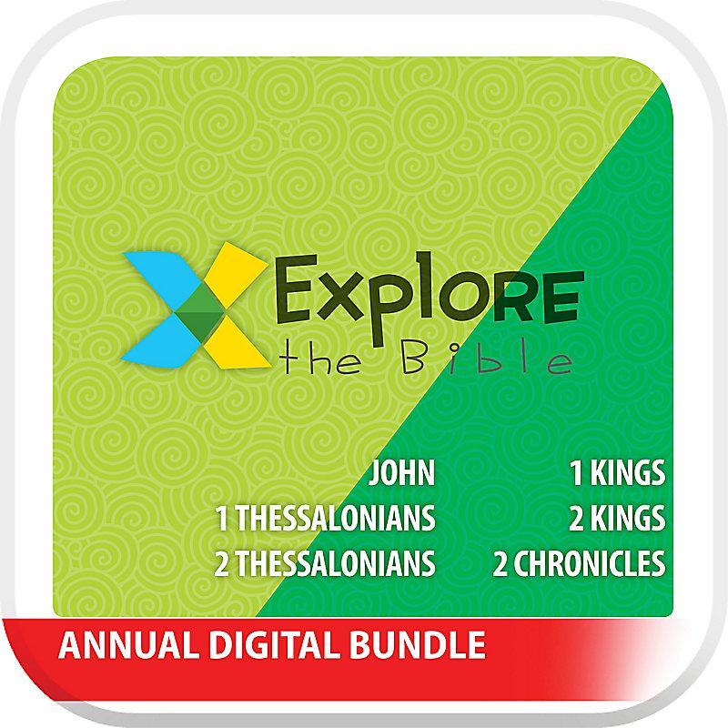 Explore the Bible: Preschool Annual Digital Bundle - Fall 2019 - Summer 2020