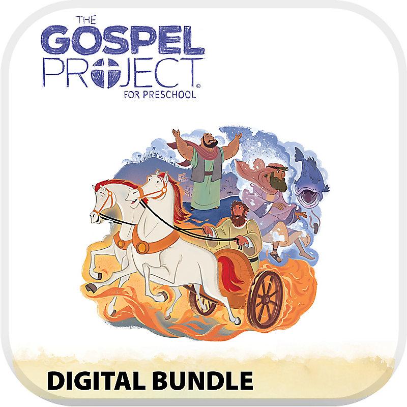 The Gospel Project Preschool Digital Bundle Volume 5 Worship Hour Add-On