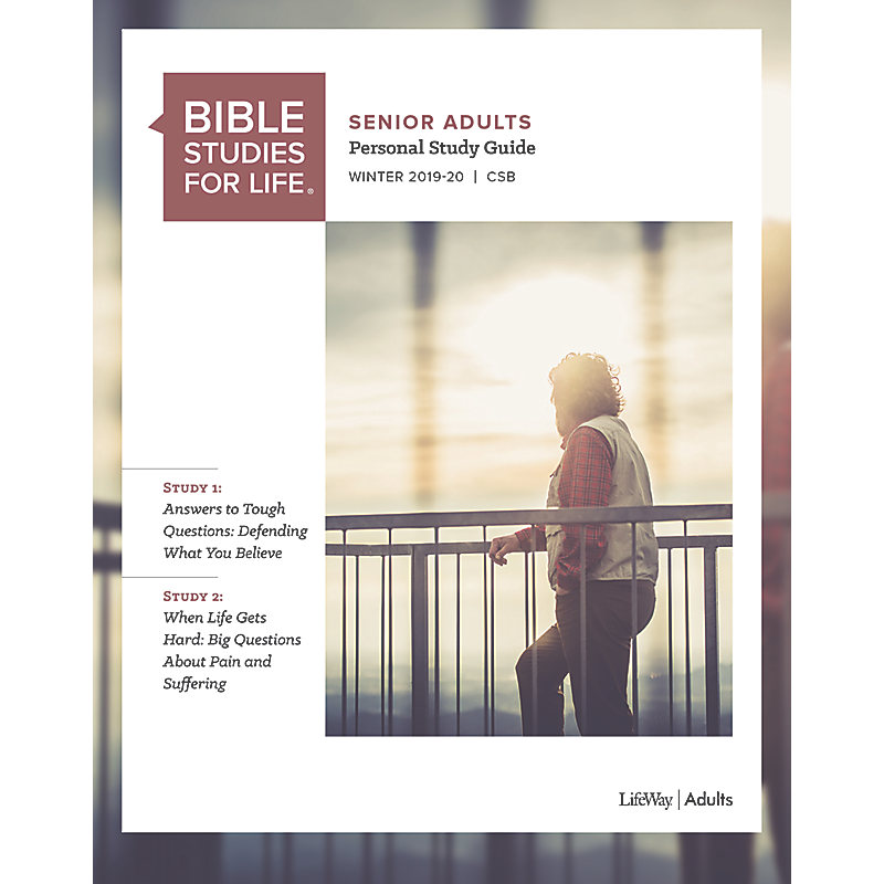 Winter Bible Study 2020.Bible Studies For Life Senior Adult Personal Study Guide