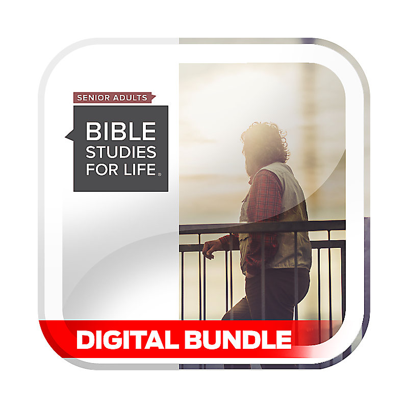 Bible Studies for Life: Senior Adult Personal Study Guide & Leader Guide Bundle - Winter 2020 - Digital