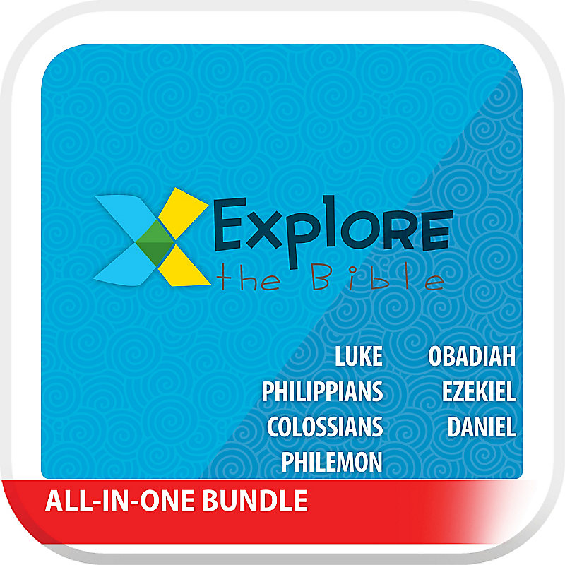 Explore the Bible: Preschool All-In-One with Worship Digital Bundle Winter 2020