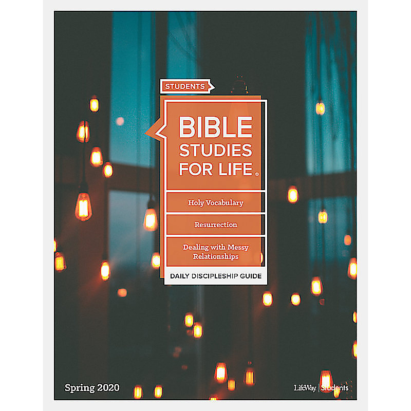 Bible Studies for Life: Student Daily Discipleship Guide - Print  Spring 2020