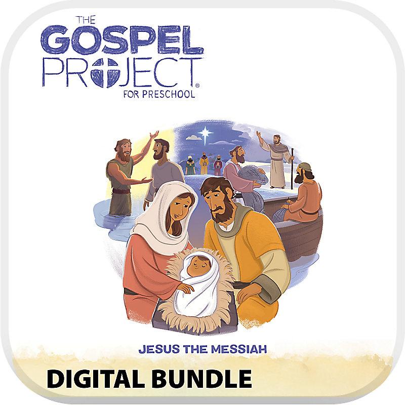 The Gospel Project for Preschool Digital Bundle Worship Hour Add-On Volume 7 Jesus the Messiah