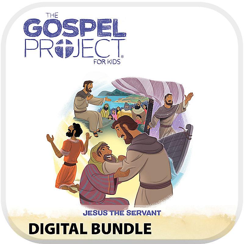The Gospel Project for Preschool and Kids Digital Bundle Worship Hour Add-On Volume 8: Jesus the Servant