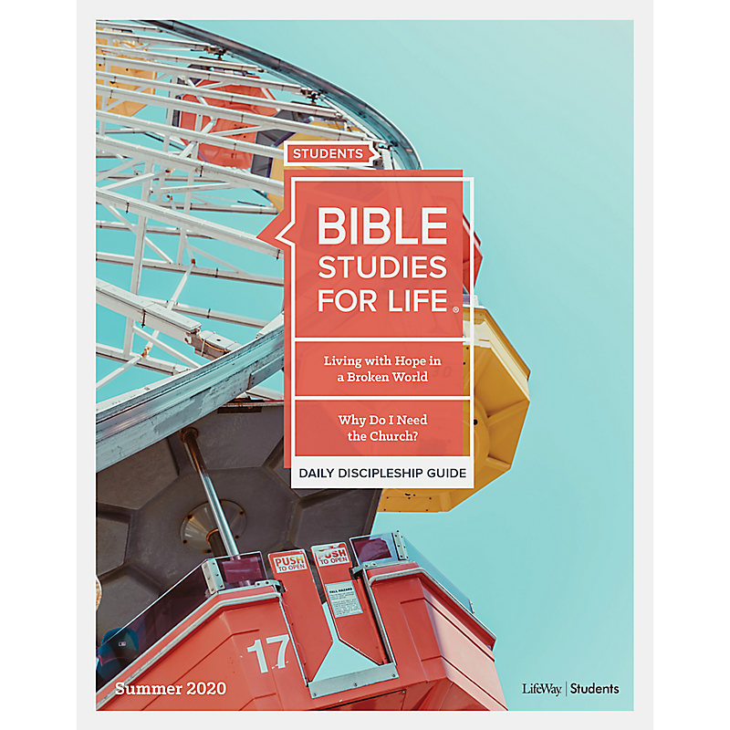 Bible Studies for Life: Students Daily Discipleship Guide - Print  Summer 2020