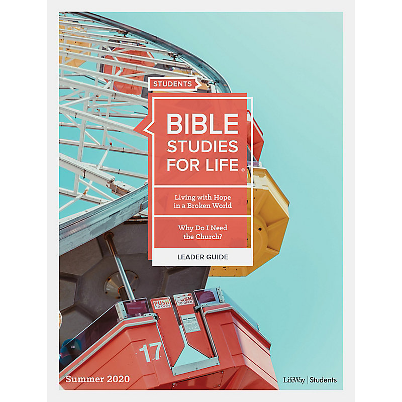 Bible Studies for Life: Students Leader Guide - Print Summer 2020