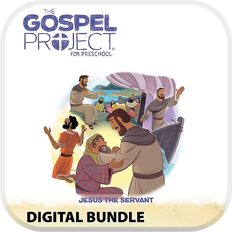 The Gospel Project for Preschool: Digital Bundle Worship Hour Add-On - Volume 8: Jesus the Servant