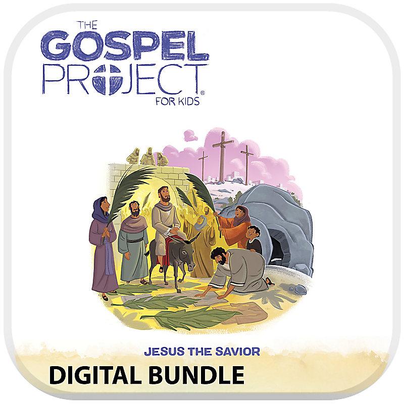 The Gospel Project for Preschool and Kids Digital Bundle - Volume 9 Jesus the Savior