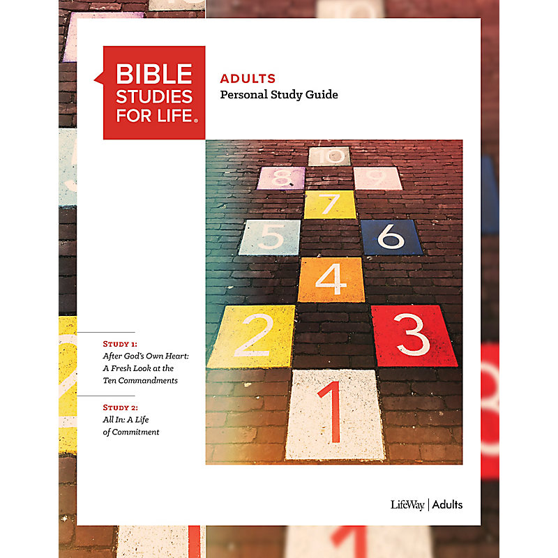 Bible Studies for Life: Adult Personal Study Guide - Fall 2020