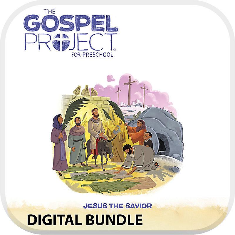 The Gospel Project for Preschool with Worship Hour Add-On Digital Bundle - Volume 9 Jesus the Savior