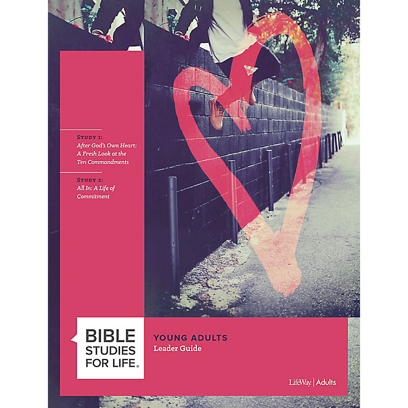 Bible Studies for Life: Young Adult Leader Guide - Fall 2020