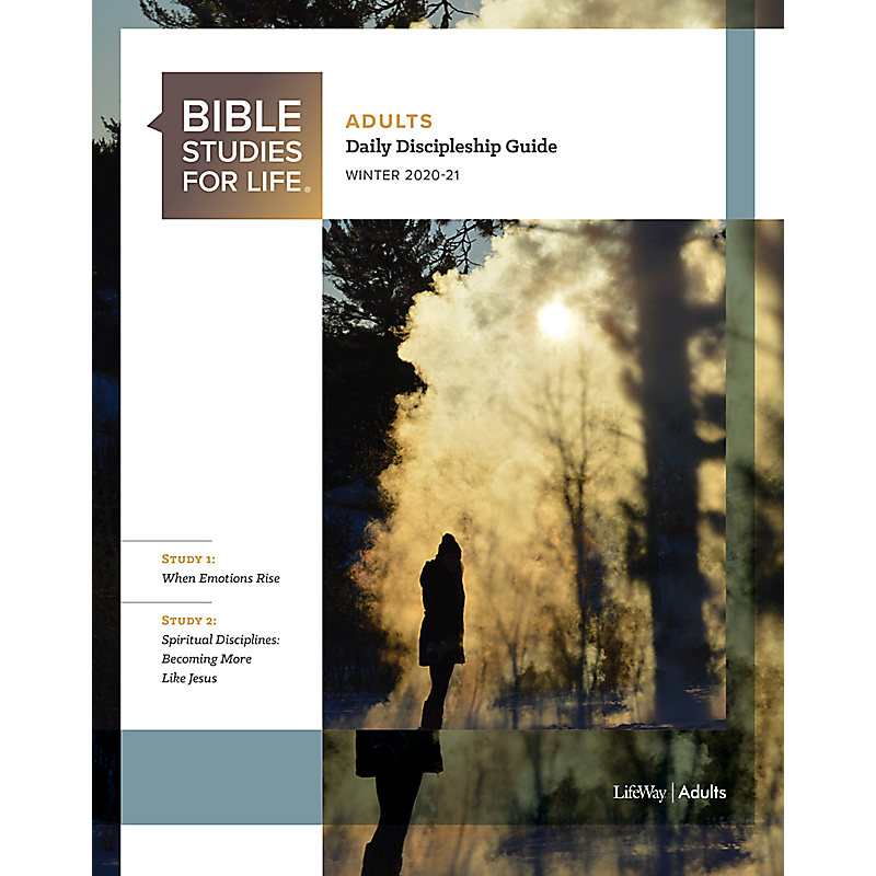 Bible Studies for Life: Adult Daily Discipleship Guide - Winter 2021