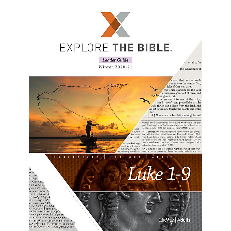 Explore the Bible: Adult Leader Guide - Winter 2021