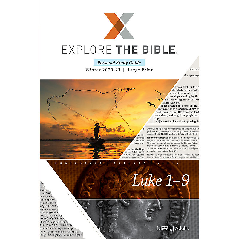 Explore the Bible: Adult Personal Study Guide Large Print - Winter 2021