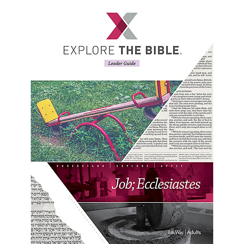 Explore the Bible: Adult Leader Guide - Summer 2021