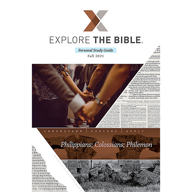 Explore the Bible: Adult Personal Study Guide - Fall 2021