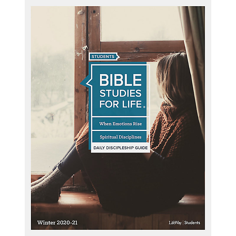 Bible Studies for Life: Students - Daily Discipleship Guide - Winter 2020-21