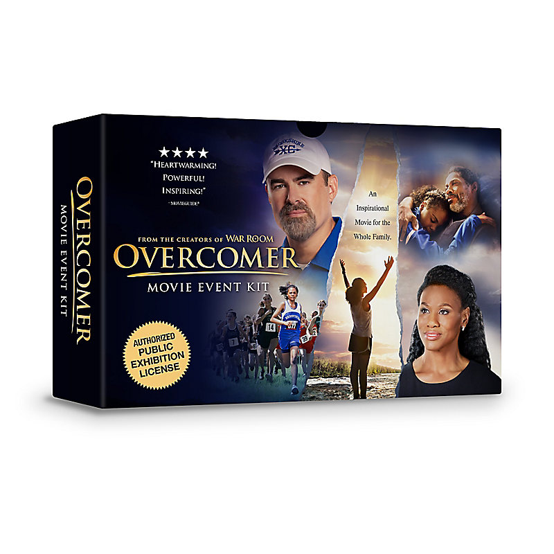 OVERCOMER Movie License Event Kit