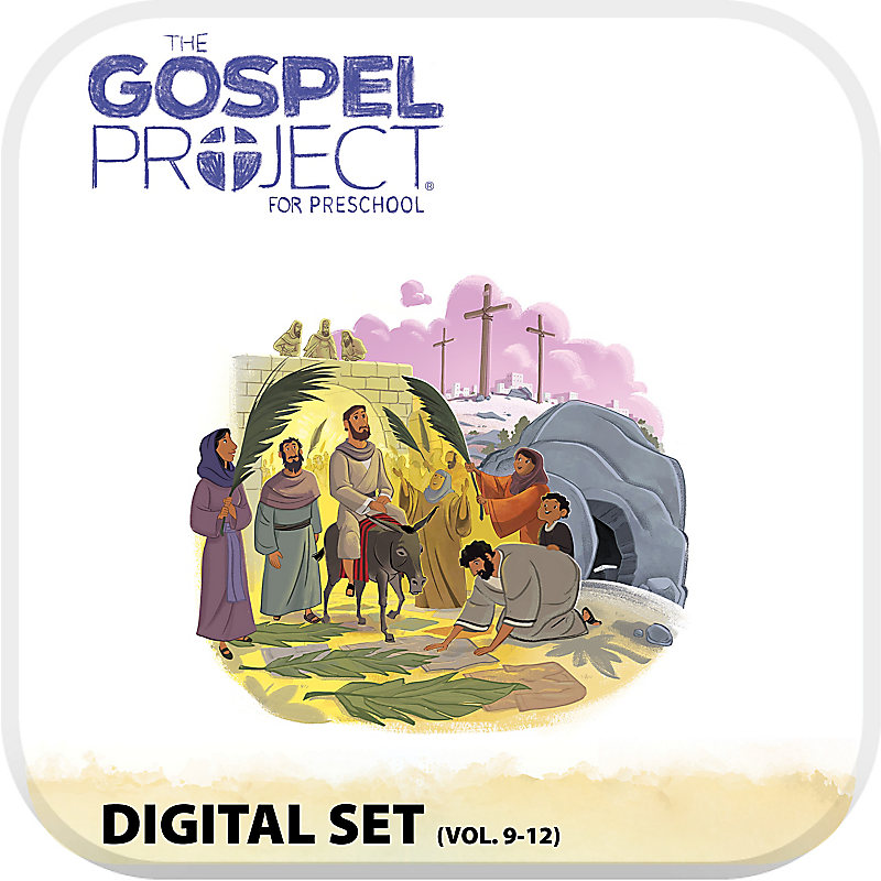 The Gospel Project for Preschool: Preschool with Worship Hour Add-On Digital Set - Volumes 9-12
