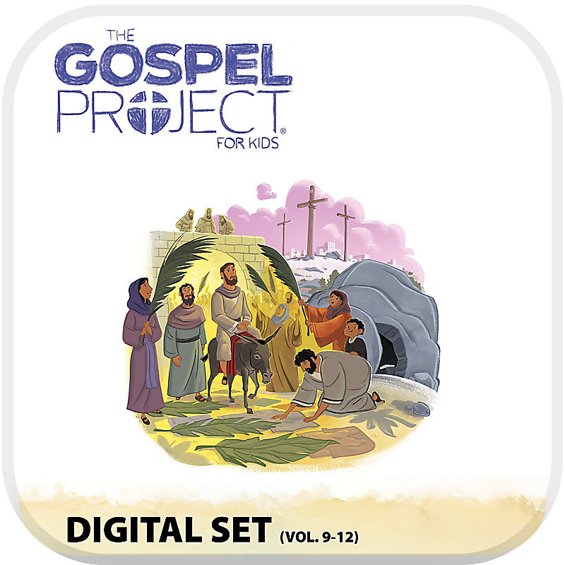 The Gospel Project for Kids: Preschool and Kids with Worship Hour Add-On Digital Set - Volumes 9-12